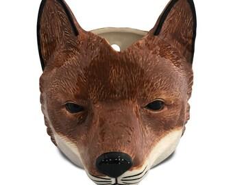 Two in One Vase: Fox Wall Hanger Pocket Vase