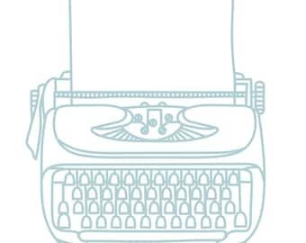 floral typewriter svg Typewriter Svg classic typewriter svg writer mom svg vintage typewriter svg typewriter cut file dxf silhouette