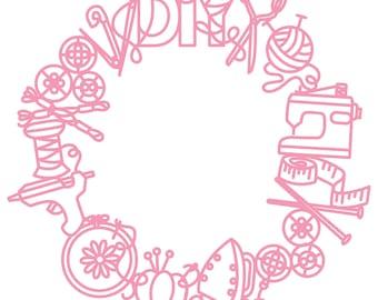 DIY Digital Cut File (zip folder with .svg, .dxf, .png, .pdf, and .studio3 files)