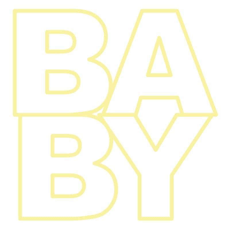 Baby Cut File .SVG .DXF .PNG .pdf image 0