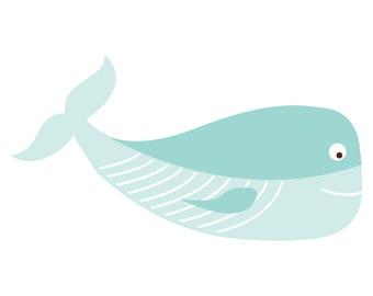 Whale Cut File .SVG .DXF .PNG .pdf