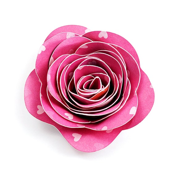 Rolled paper flower cut file g dxf g etsy image 0 mightylinksfo