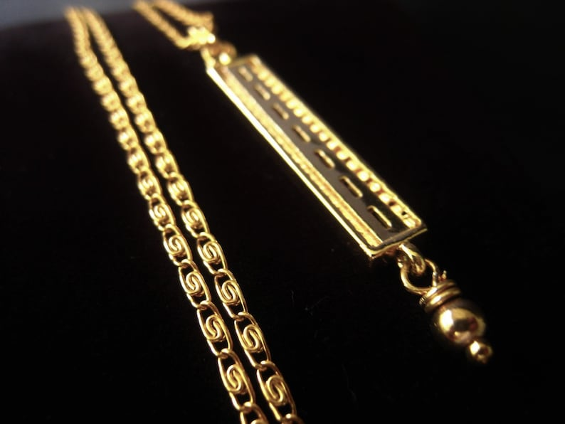 Gold Bar Pendant Necklace  Stainless Steel Chain Necklace CZ Birthstone Connector Item No JE6434