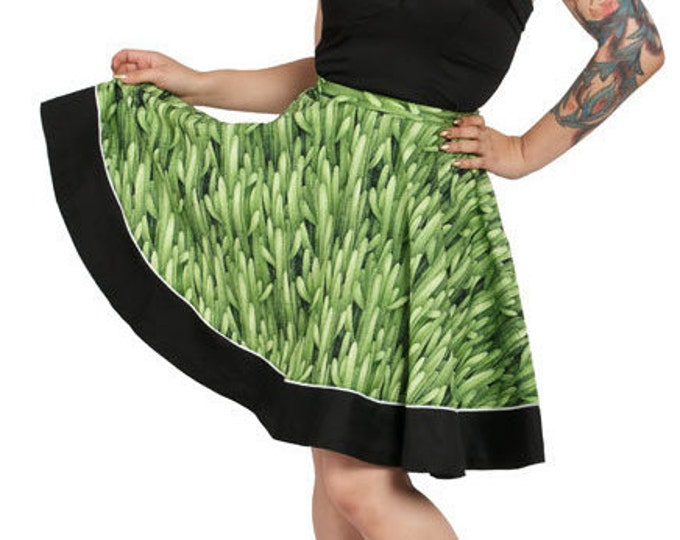 Sadie Skirt in Cactus Print