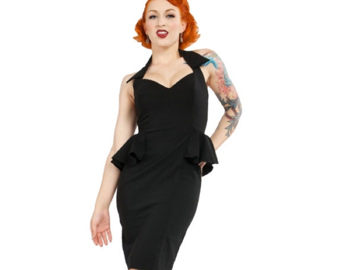 Lucille Dress in Black XS ONLY