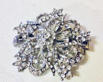 Wedding hair accessories, bridal hair accessories, bridal headpiece, bridal hair comb, proms, brooch comb