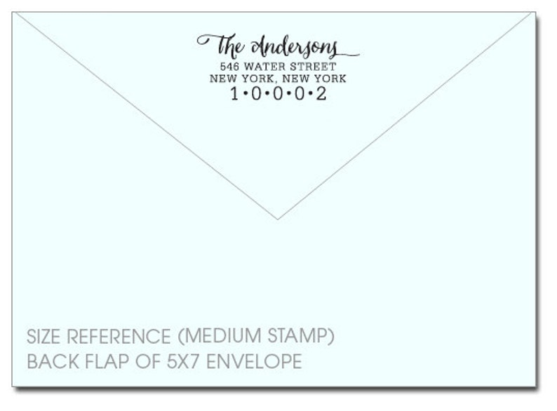 Eco Friendly Self-Inking stamp custom address stamp Calligraphy 139 custom stamp CUSTOM ADDRESS STAMP with proof from usa address stamp
