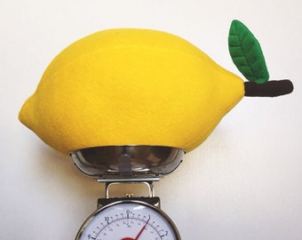 Giant Lemon Pillow - Weird Stuff and Fruity Decor