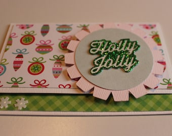 christmas gift card holder holly jolly pink money card holder christmas money holder christmas stocking stuffer