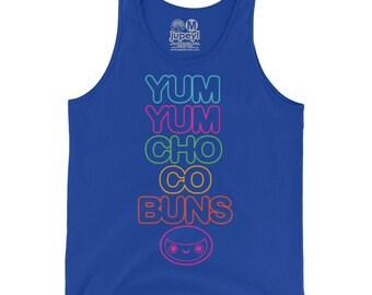 Men's Yum Yum Chocobuns Rainbow Flavor Tank