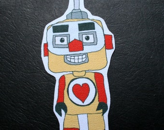 Block Head Yellow Robot