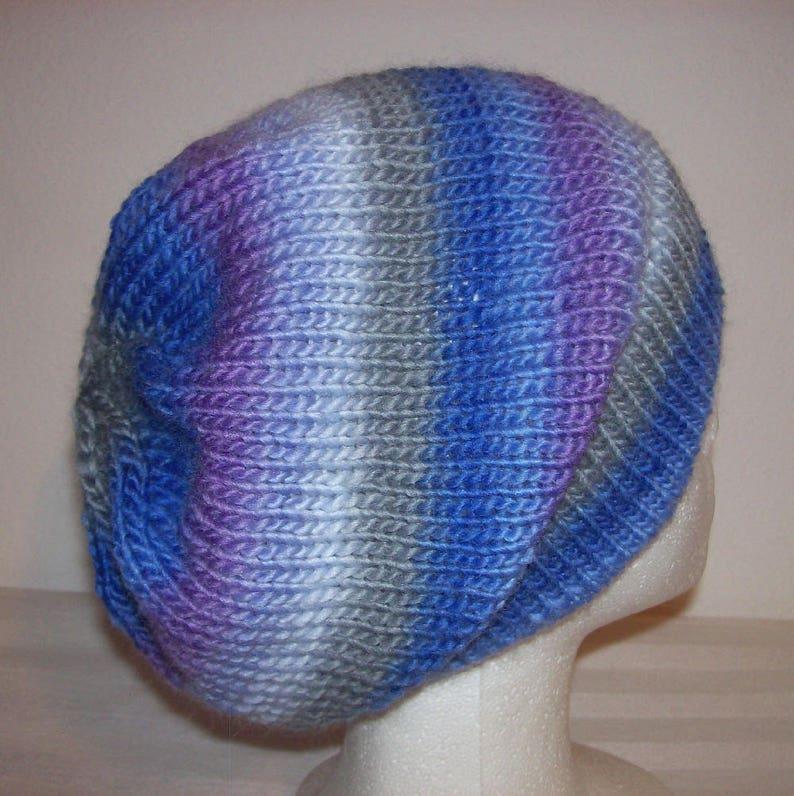 236cb2fd33f Ski Hat Slouchy Beanie Toque Hand Knit Hat Winter Cap