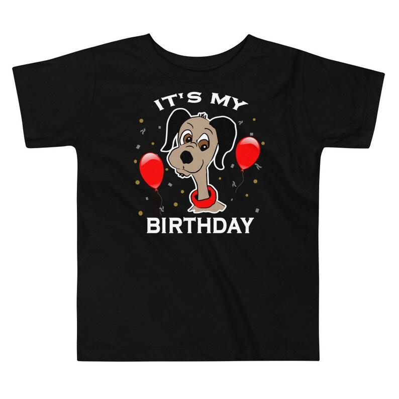 Its My Birthday Shirt Toddler Birthday Tshirt Toddler