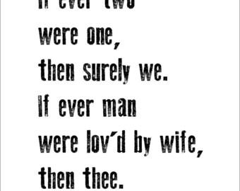 Romantic Love Poem Etsy