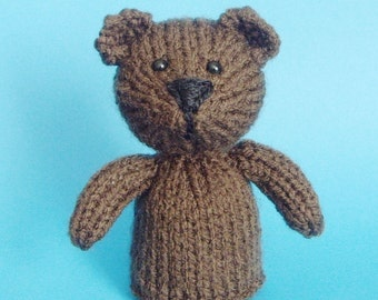 Bear Toy Knitting Pattern (PDF)