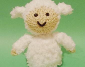 Sheep Toy Knitting Pattern (PDF)
