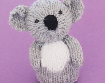 Koala Toy Knitting Pattern (PDF)