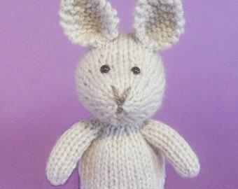 Rabbit Toy Knitting Pattern (PDF)