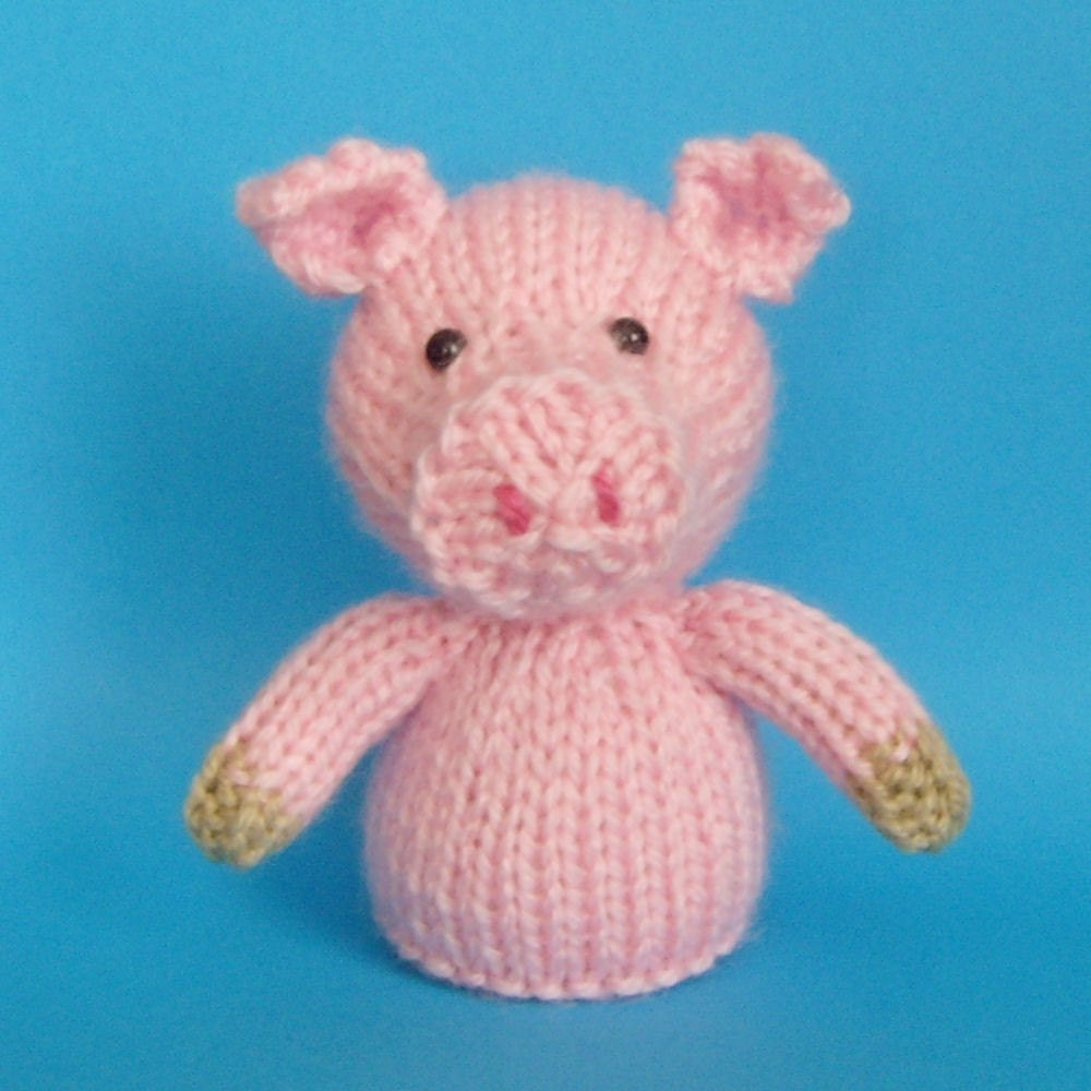 Modern Finger Puppets Knitting Patterns Mold - Easy Scarf Knitting ...