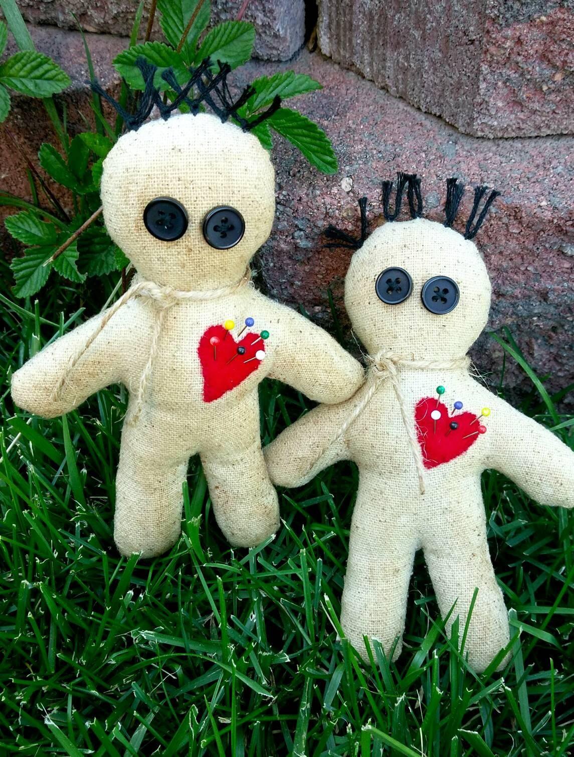 Handmade Voodoo Doll/Poppet for Ritual, Meditation, Healing