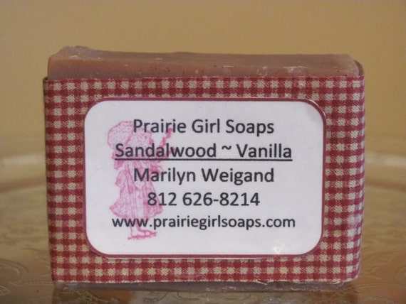 Sandalwood and Vanilla with Gound Vanilla Beans