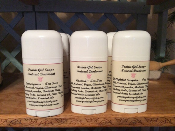 Prairie Girl Natural Deodorants