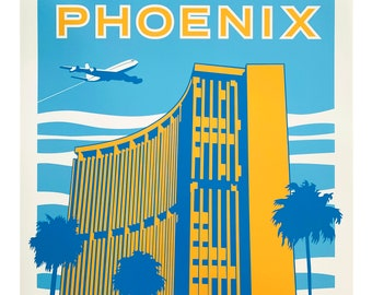 Phoenix Travel Poster print