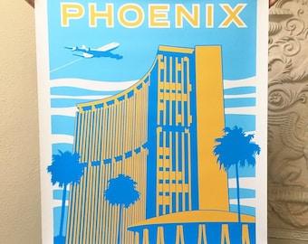 Phoenix Supersized Travel Poster