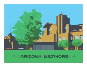 Limited edition Arizona Biltmore photo print