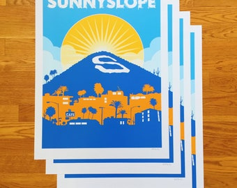 Sunnyslope photo print