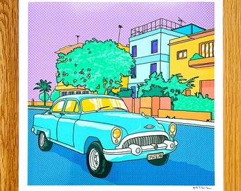 Caribbean Classic print