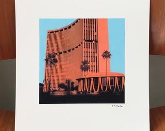 Phoenix Financial Center Dreamscape print