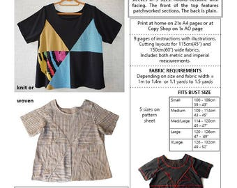 AURANA TOP PDF sewing pattern