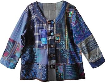 Zambeesi Jacket, womens PDF sewing pattern