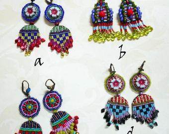 Seed Bead Earrings Series 1/2018