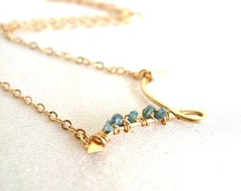 Rough Diamond Necklace, Blue diamond, Wings Necklace Bridal jewelry Blue Pink white Diamond necklace Blue Black white pink Under 125