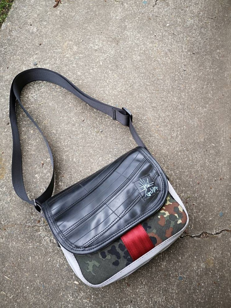753337692a2 Recycled Purse - Bike Inner tube Bag - Seat belt bag - Bicycle Accessories  - Made in Canada - Urchin Bags