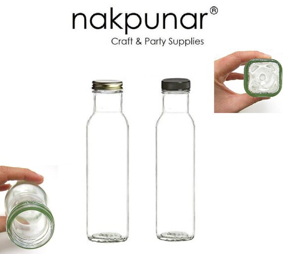 21d4610d6f64 Items similar to Nakpunar 1 pc 8 oz 250 ml Wide Mouth Empty Glass ...