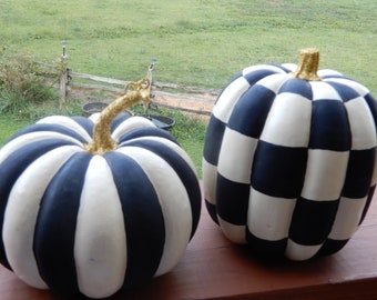 painted pumpkins etsy