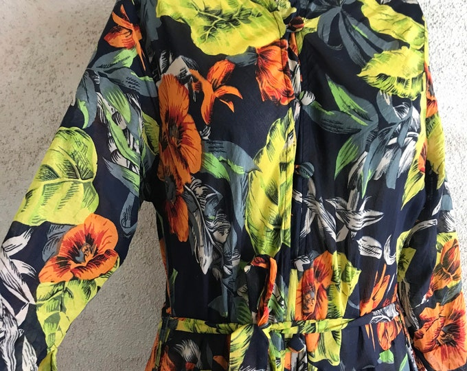 Colorbomb mandarin shirtdress