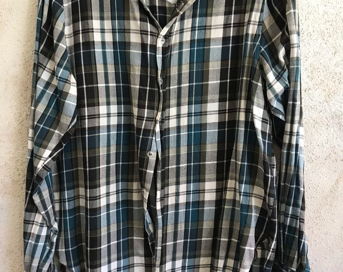 Super soft flannel boyfriend shirt