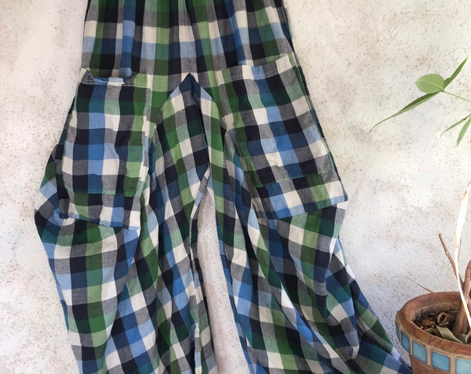 Super lightweight flannel cotton lagenlook pant