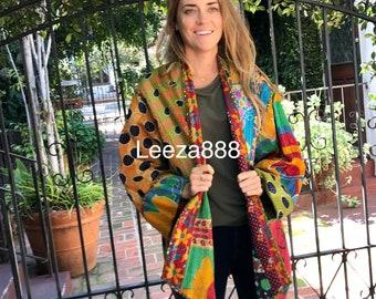 plus size Spotted Lizard reversible cotton jacket