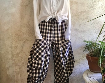 Funky Bicycle pant in Flannel