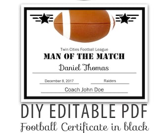 award certificate etsy