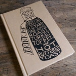 Drink Me (a gocco printed hardback notebook, A6)