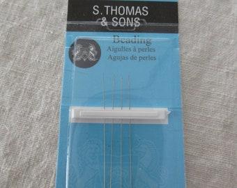 S Thomas & Sons Size 16 Bead Needles 4 PK