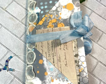 Christmas junk journal Traveler/'s notebook insert Shabby Chic VintageTraditional colorDecember daily
