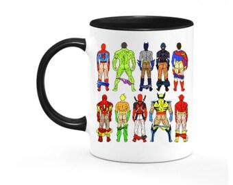 Superhero Coffee Mug Etsy