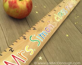 Personalized Ruler - Teacher Gift